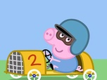 Replay La voiture de course de Georges - Peppa Pig