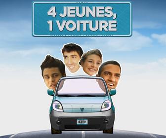 4 jeunes, 1 voiture replay