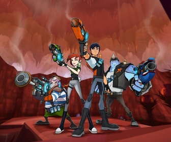 Replay Slugterra - S5 E2 : Trafic de slugs