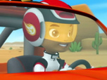 Replay Blaze et les Monster Machines - La course de voiture