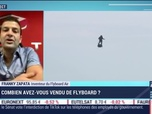 Replay Good Morning Business - Franky Zapata (Flyboard Air) : Bientôt une voiture volante ? - 07/08
