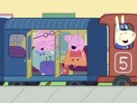 Replay Peppa Pig - S5 E49 : Un long voyage en train