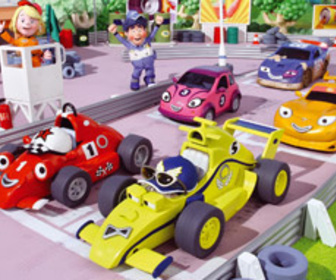 Roary la voiture de course replay