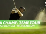 Replay Golf - Les highlights de Phil Mickelson : PGA Championship 2020 - 2ème Tour