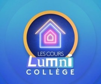 Replay Les cours Lumni - Collège - CM2