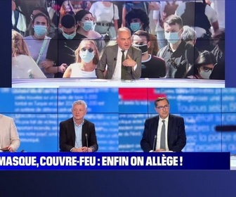 Replay BFM story - Story 8 : Masque, couvre-feu... Enfin on allège ! - 16/06