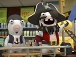 Replay Les Lapins Crétins - Invasion, la série TV - S3 E36 : Pirates crétins