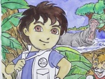 Replay 1, 2, 3... Coloriage ! Go Diego | Chez les hippos | Episode entier