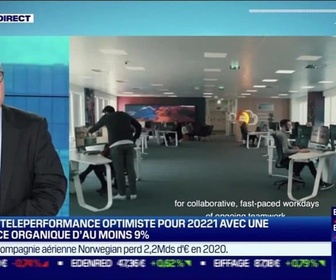 Replay Good Morning Business - Olivier Rigaudy (Teleperformance): Le groupe Teleperformance optimiste pour 2021 - 26/02
