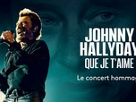 Replay Johnny Hallyday : Que je t'aime