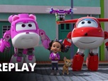 Replay Super Wings - Le drone peintre