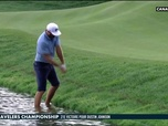 Replay Dustin Johnson prend un bain de pieds : Golf+ Le Mag