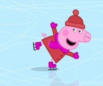 Replay Peppa Pig - S2 E35 : Le patin à glace
