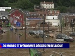 Replay BFM story - Story 4 : Inondations en Europe, le climat devient fou ? - 16/07