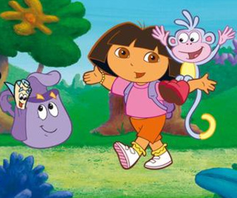 Replay Dora l'Exploratrice - Dora the Explorer: Dora and Diego in the Time of Dinosaurs